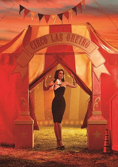 Наталия Орейро в цирке