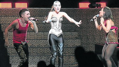 Наталия Орейро снова вышла на сцену