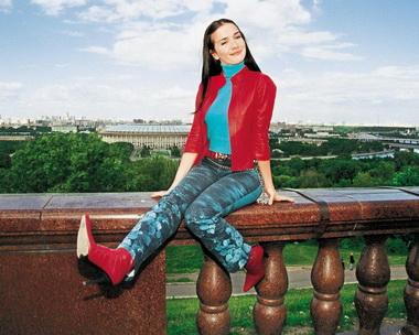 Наталья Орейро в России.