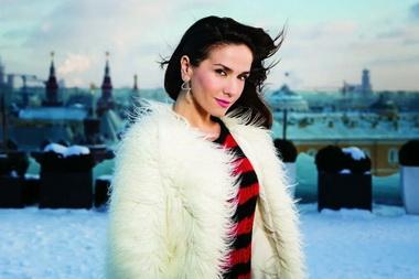 Наталья Орейро в Москве.